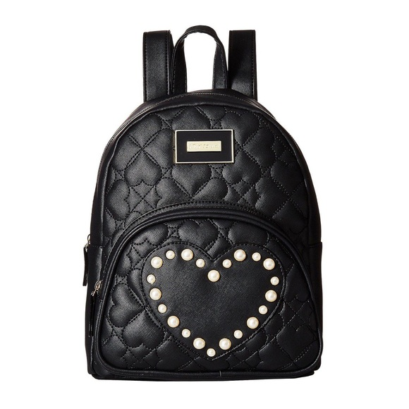 Betsey Johnson Handbags - Betsey Johnson Quilted Backpack